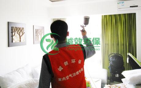 番禺南村清华坊-除甲醛公司