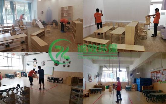 广州海滨幼儿园除甲醛